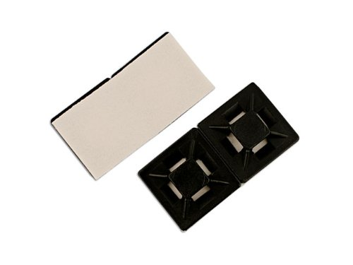 Connect 30343 Cable Tie Self-Adhesive Mounts 19mm Natural Pack 100