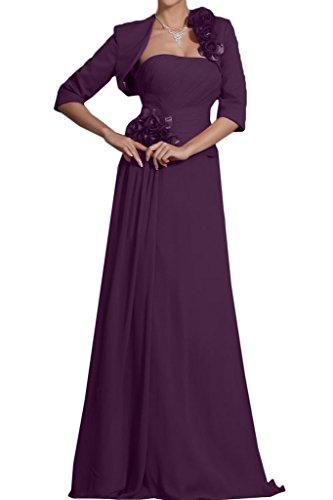 Missdressy - Vestido - plisado - para mujer morado 34