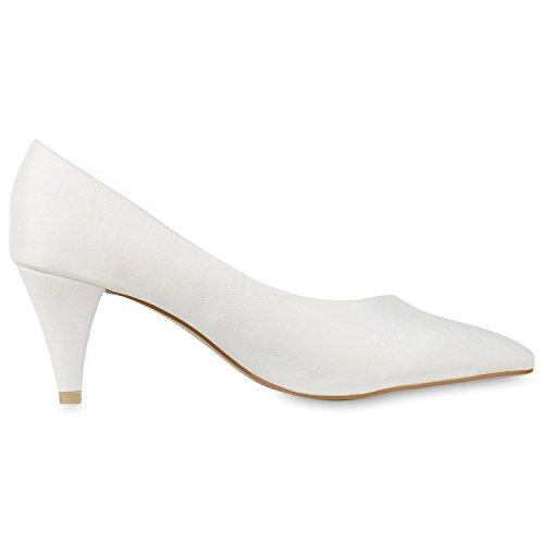 fashion White Cerrado napoli Weiss Mujer dfxRSyqU