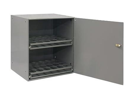 Great Durham 300 95 Prime Cold Rolled Steel Aerosol Storage Cabinet, 2 Shelves, 15