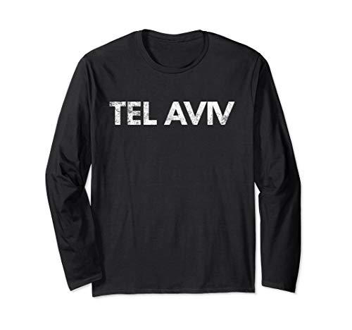 - Tel Aviv Long Sleeve Tshirt Israel