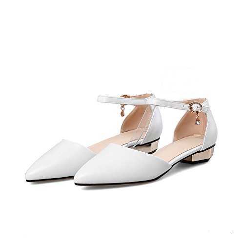BalaMasa Sandales Compensées Sandales BalaMasa Compensées Femme Blanc Blanc BalaMasa Femme q4nFxwRBC