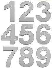 Huisnummers van RVS - Nummer 0 tm 9-25cm
