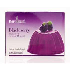 Imperial Blackberry Flavoured Gelatin Dessert 100g.(pack of 2) by Imperial
