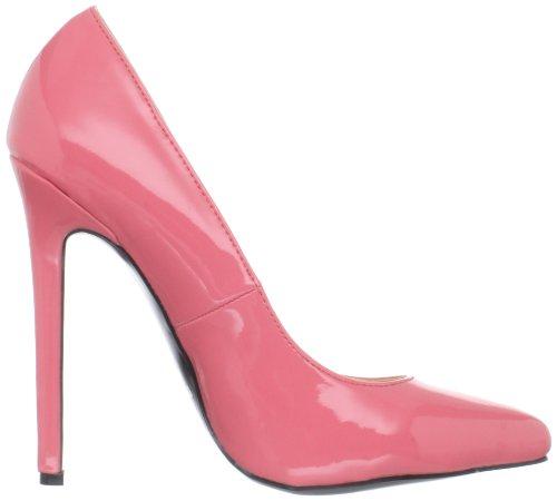 Hottie Highest Patent Coral Women's Stiletto The Heel gwwqta
