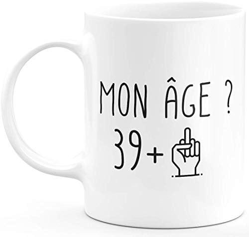 Ceramike Mug 40 Ans Rigolo drô…