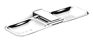 Dazzle Double Soap Dish-Soap Stand-Bathroom Soap Holder-Anti Rust-Corrosion Free 304 Stainless Steel-DG1015