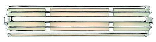 Hinkley 5234CM Transitional Four Light Bath from Winton collection in Chrome, Pol. - Bath Deco Light Four