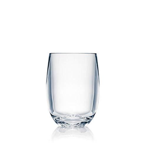 Strahl Design+Contemporary Osteria 13-Ounce Stemless Wine Glass, Set of 4