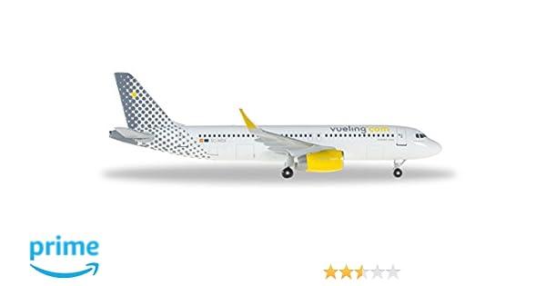 Herpa 528993 - 001 - Vehículo, vueling Airbus A320: Amazon.es: Juguetes y juegos
