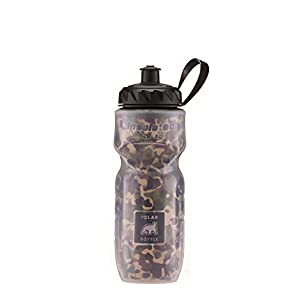 Polar Bottle Insulated Water Bottle, Camo, 20-Ounce