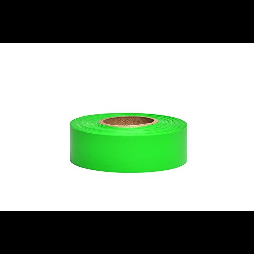 Flagging 300' Roll - Swanson RFTG300 1-3/16-Inch by 300-Feet Taffeta Roll Flagging, Green