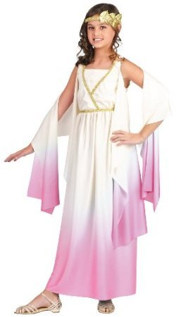 [Big Girls' Athena Goddess Costume Medium (8-10)] (Athena Greek Goddess Costume Child)