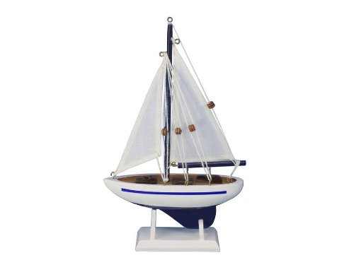 Hampton Nautical  Pacific Sailer Blue 9