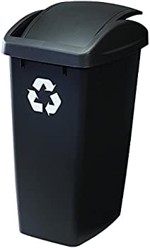 Rubbermaid Swing N' Toss 12.5-Ga. Wastebasket Recycle Bin