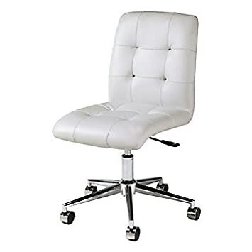 Armless Office Chairs.Berends Leather Armless Office Chair. Dirk ...