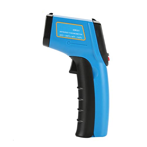 TADAMI Thermometer Gun, Portable Non-Contact LCD IR Laser Infrared Digital Temperature Thermometer Gun (Blue)