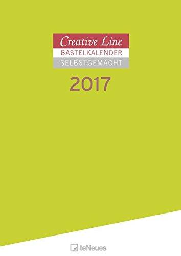 Bastelkalender 2017 Selbstgemacht - Malkalender 2017, Kalender zum selbergestalten, Do-it-yourself Kalender, Wandkalender 2017  -  29,7 x 42 cm