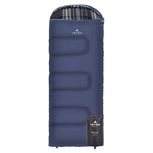 TETON Sports Celsius Junior Kids Sleeping Bag Perfect for Camping, Traveling, and Sleepovers Start Their Camping Experience Off Right with this Sleeping Bag Stuff Sack Included