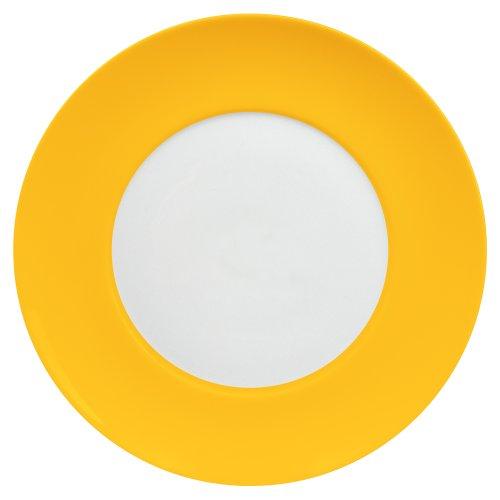 Waechtersbach Uno Dinner Plates, Curry, Set of 4