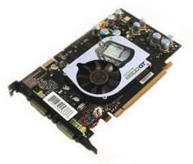 XFX PVT84JUDF3 GeForce 8600GT 256MB GDDR3 PCI Express x16 SLI Ready Video Card (Dual DVI/S-Video)