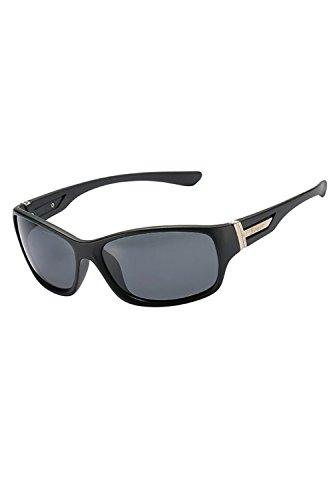 UV De Protección Gafas Deportes Black Ciclismo Polarizadas Hombres Gafas UV400 8x6OYf