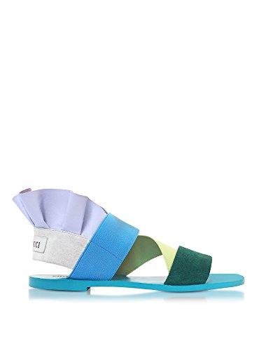 Emilio Pucci Vrouwen 81ce7681x06a28 Multicolour Leren Sandalen