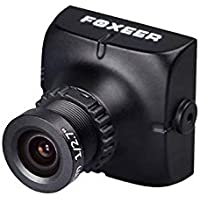 Foxeer HS1177 V2 600TVL FPV Camera Metal Case - NTSC - Lens 2.5mm - Black