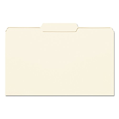 Smead File Folder, 1/3-Cut Tab Center Position, Legal Size, Manila, 100 per Box (15332)