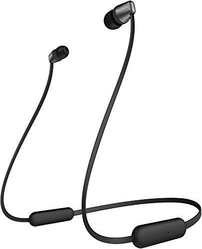 Sony WI-C310 Wireless Neck-Band Headphones with up to 15 Hours of Battery Life – Black 1
