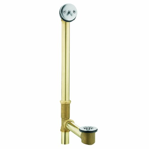 - Moen 90480 Trip Lever Bath Waste for Whirlpool Tubs, Chrome