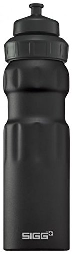 Sigg Wide Mouth Water Sports Bottle, 0.75L, Pack of 6 (Black Touch)