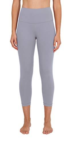 90 Degree By Reflex - High Waist Tummy Control Shapewear - Power Flex Capri - Winter Violet - Small