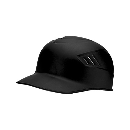 Rawlings Coolflo Matte Style Alpha Sized Base Coach Helmet, Black, ()