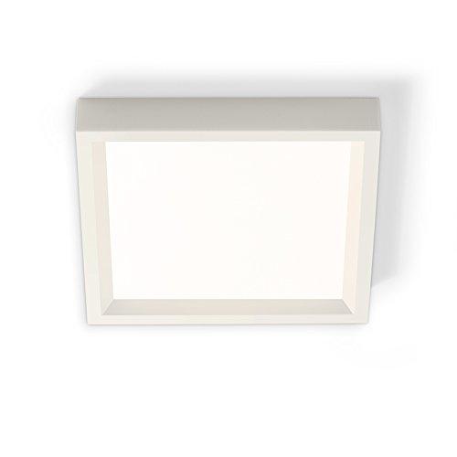PHILIPS LIGHTOLIER S4S927K7AL 4'' Sq. Aluminum LED Slim Surface 650 Lumens 2700K