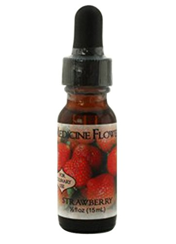 Flavor Extract Natural Strawberry for Culinary Use By Medicine Flower