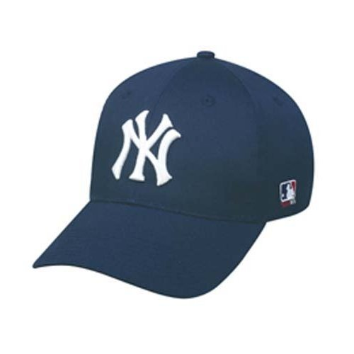 (MLB Replica Adult New York YANKEES Home Cap Adjustable Velcro Twill)