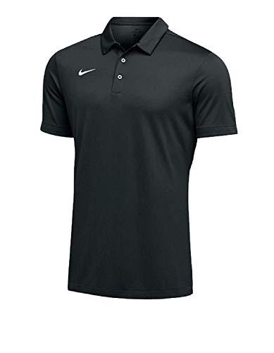 Nike Mens Dri-FIT Short Sleeve Polo Shirt (Large, Orange)