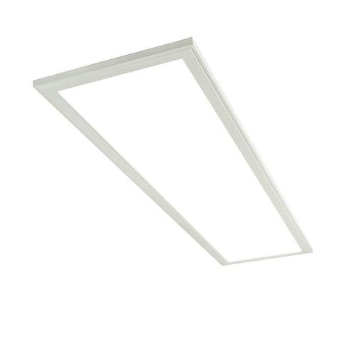 SKYLIGHT 2.0 Ultra Thin LED Panel Light (1x4'), Neutral White 4000K, 3,949 Lumens, 37 Watts (replaces 64W fluorescent), Low Profile, DLC Qualified, UL listed, L70 Lifetime 50,000 hrs, 5 Year - Lights Low Profile Fluorescent