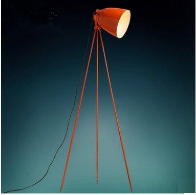CU@EY Dreieck Trigeminus Schmiedeeisen Stehlampen, Heimwerken, lesen, H160cm