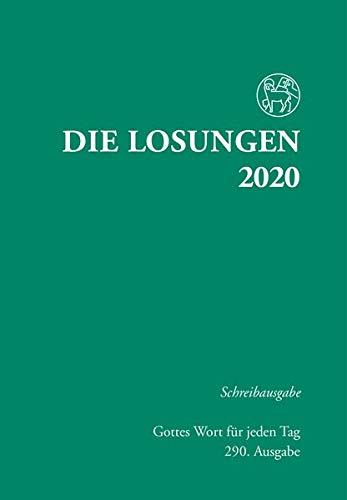 Die Losungen 2020 Deutschland   Die Losungen 2020  Schreibausgabe