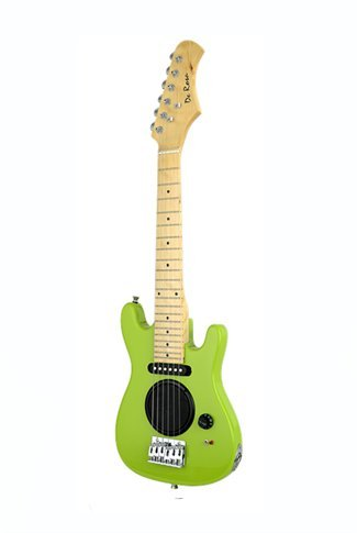 Size Kids Electric Guitar with Built in Amp - & DirectlyCheap(TM) Translucent Blue Medium Guitar Pick (Blues Electric Amps)