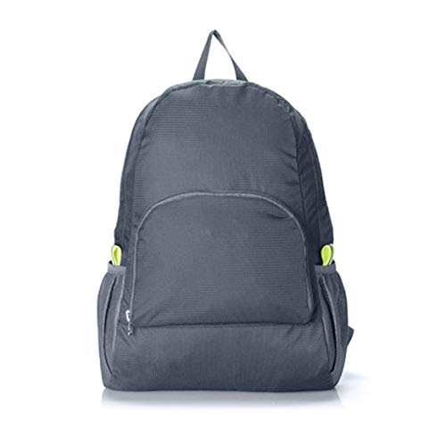 Paperllong® Hiking Bag Rucksack Lightweight Foldable Waterproof Nylon Women Men Casual Skin Pack Backpack Travel Outdoor…