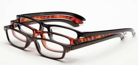 OPTX-20/20 Reading Glasses, +4.0, Clear, Acrylic, PK3
