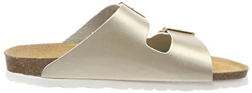 Gold Double Tamaris 20 Mule 27525 Sandals Buckle Women's gold 940 1 qHwH78I
