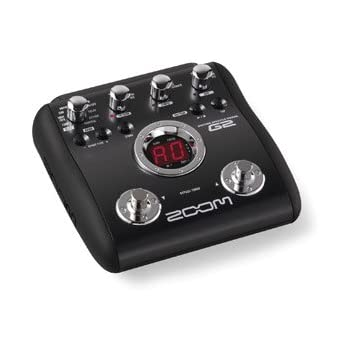 zoom g2 guitar multi effects pedal musical instruments. Black Bedroom Furniture Sets. Home Design Ideas