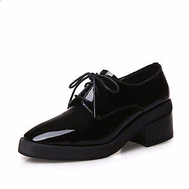 Plat Décontracté ggx Chaussures Lvyuan Printemps Confort Femme Noir À Rouge Polyuréthane Black Talons AARxpqSw