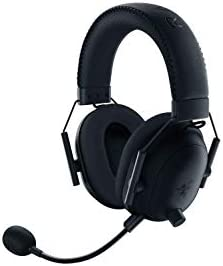 Razer BlackShark V2 Pro Wireless Gaming Headset: THX 7.1 Spatial Surround Sound - 50mm Drivers - Detachable Mic - for PC - 3.5mm Headphone Jack - Black