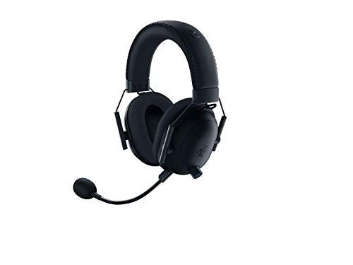 Razer BlackShark V2 Pro Wireless Gaming Headphone: THX Spatial Audio, Advanced passive noise cancellation, On-earcup controls, Compatible with PC, Mac, PS4, Nintendo Switch - Classic Black