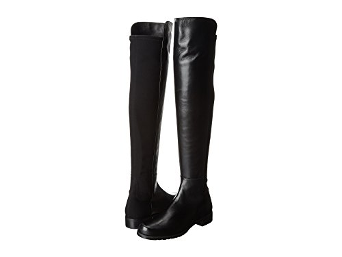 Image of the Stuart Weitzman Women's 5050 Over-the-Knee Boot,Black Nappa,7 M US